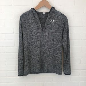 Under Armour Hooded Pullover Long Sleeve Shirt